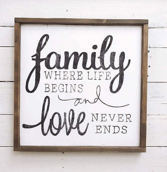 27 Ideas Of Wood Art Signs And Decor Family Goals Wood