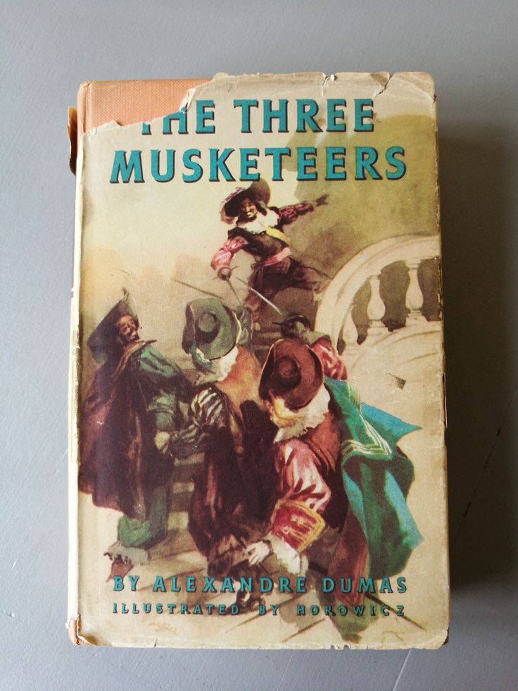 Vintage Book 1954 - The Three Musketeers By Alexandre Dumas and Illustrated By Horovicz - Hardback, Dust Jacket 1954. The Three Musketeers by OnyxCollectables on Etsy