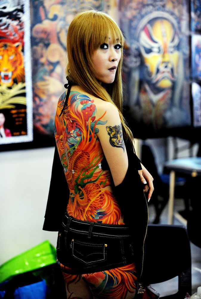 Extreme Tattoo Gallery: Ink Makes Clothing Optional (PHOTOS)
