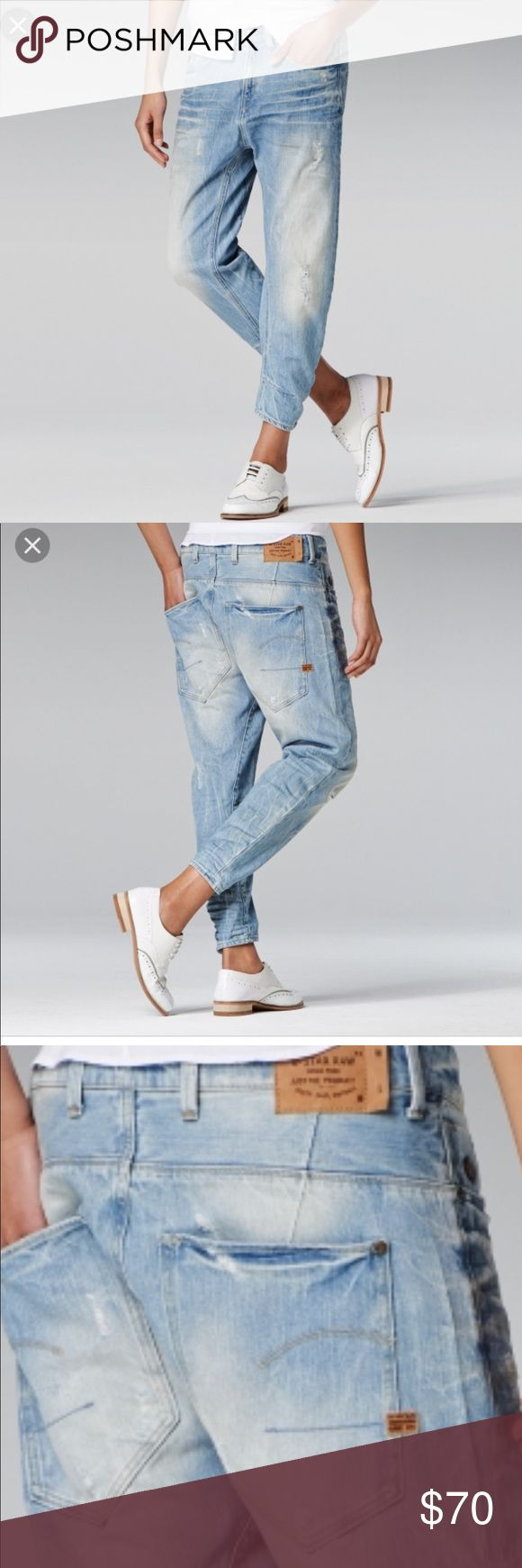 G-star Raw boyfriend jeans Type C 3D loose tapered. I wore them 3 times only just like new G-Star Jeans Boyfriend