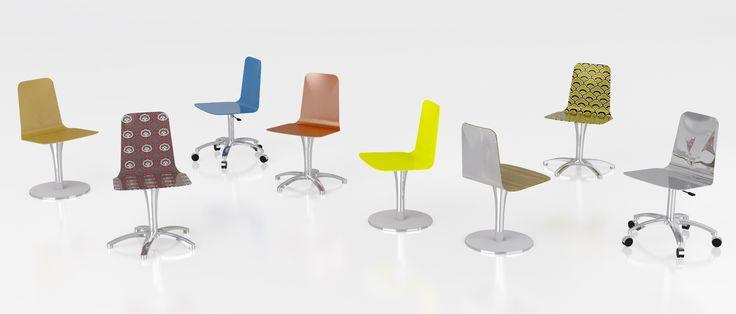 #luwan chair, design by Marco Piva for #altreforme, #district collection #interior #home #decor #homedecor #furniture #aluminium