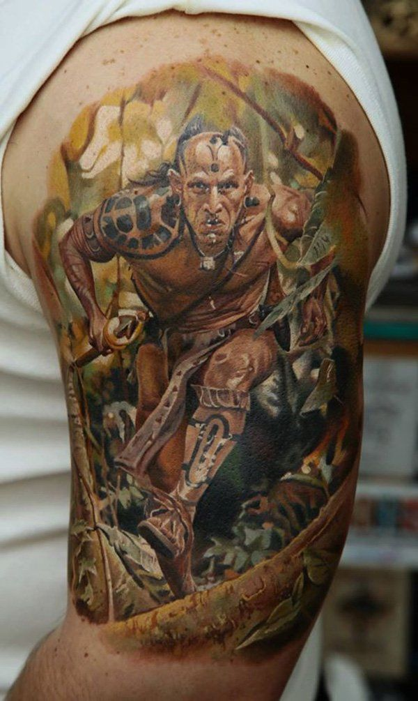 30 Fighting Warrior Tattoos Warrior tattoos Hyper