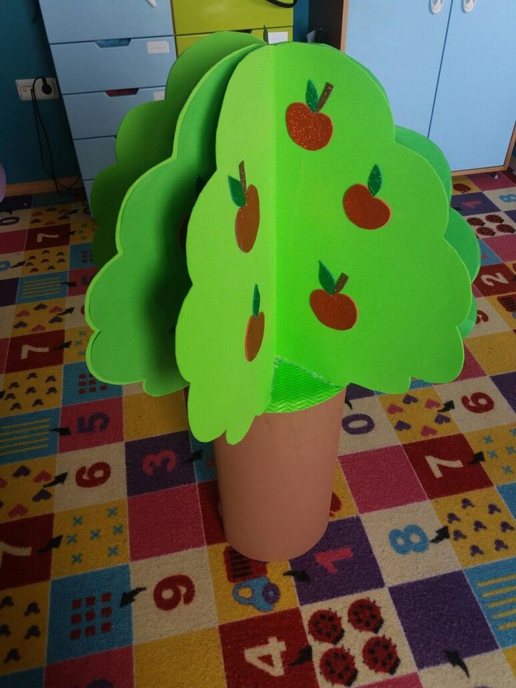 okul öncesi ağaç etkinligi