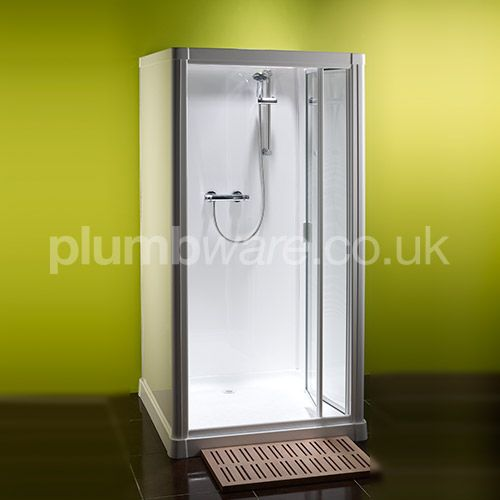 Profile 900 Shower Cubicle (Flat Pack Shower Cubicle). This completely leak-proof, slot together system is simple to assemble and can be completed in minutes.