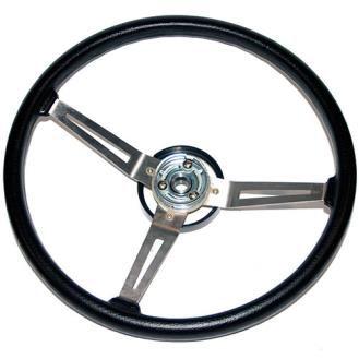 Omix-Ada - Omix-ADA OEM Steering Wheel - 18031.05 - Fits 1987 to 1995 YJ Wrangler - 4WD.com