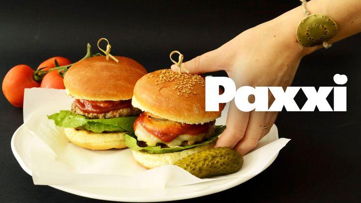 Το τέλειο χάμπουργκερ με σουπερ-αφράτο ψωμάκι μπριός  - Paxxi E73