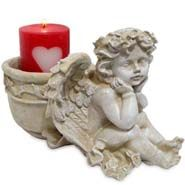 Cupid Candle Holder