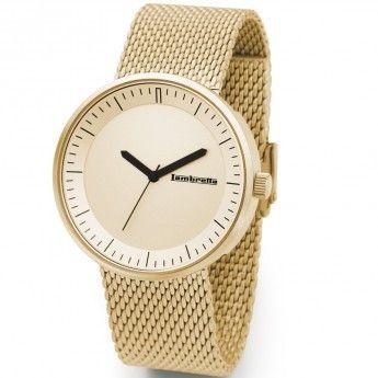 Reloj Dorado Franco Mesh Lambretta. http://www.relojeslambretta.es/products/reloj-dorado-franco-mesh-lambretta?variant=1073184657
