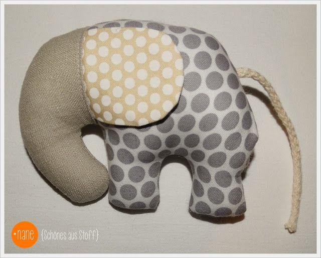 Elefant nähen