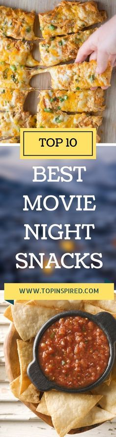 Make some of the top 10 best movie night snacks which we present you. Be the chef of the movie night and do what everybody at least expect.