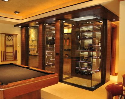 House In The Woods, Contemporary Wine Cellar, Minneapolis
