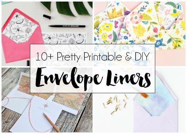 The 25+ best Diy envelope liners ideas on Pinterest Wedding - sample envelope liner template
