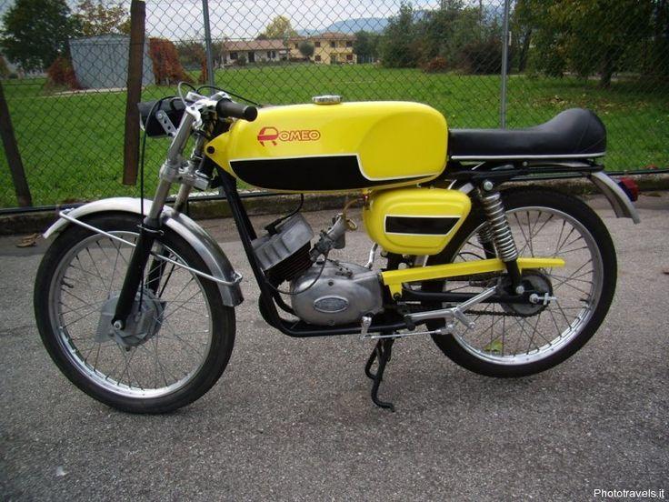 Benneli 50cc   Romeo 50 Minarelli Sport stesino fanale anteriore Abbiati ...