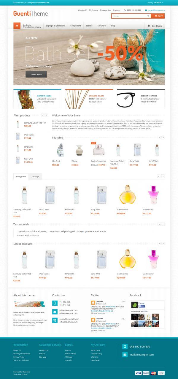 Mẫu web bán hàng quà lưu niệm chuyên nghiệp Guenti