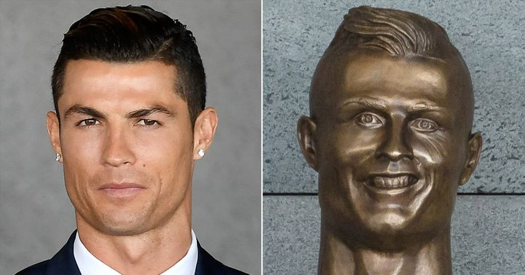 Cristiano Ronaldo's Latest Statue Looks Nothing Like Him — and the Internet Is Cracking Up About It