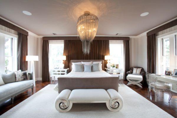 10 dormitorios con una decoración elegante y glamurosa.   Mil Ideas de Decoración