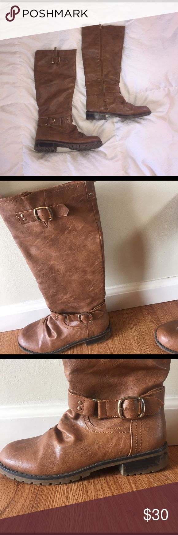 Riding boots Bought at Apricot Lane boutique. Moderately worn, open to offers! Shoes Heeled Boots