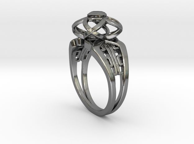 Korean Twin Ring (001) by Fluid_Designer