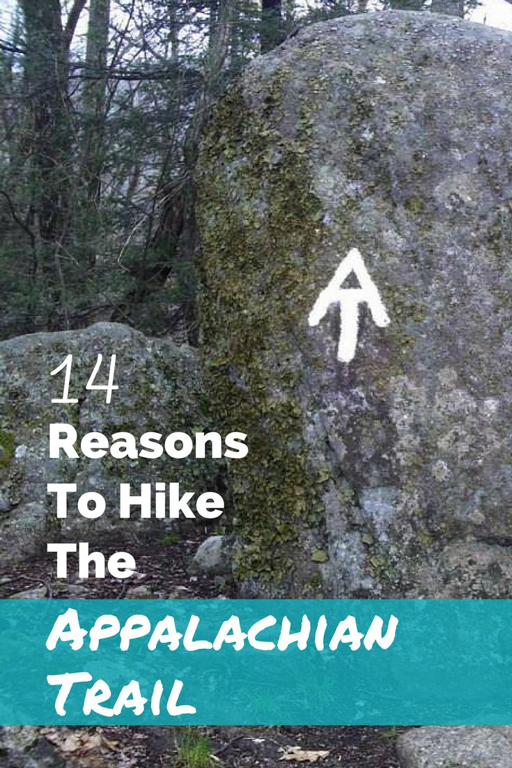 14 reasons to finally get out and hike the Appalachian Trail.