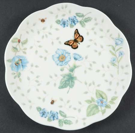 Dessert/Pie Plate in Butterfly Meadow by Lenox