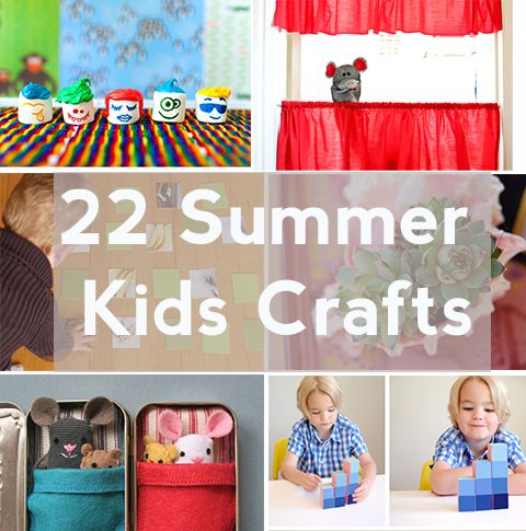 22 Awesome Summer Crafts for Kids