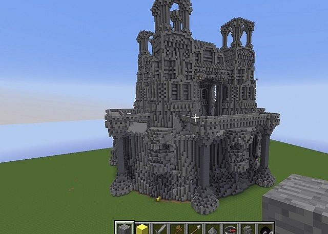 Quartz minecraft building ideas castle island 6 for Build a castle home