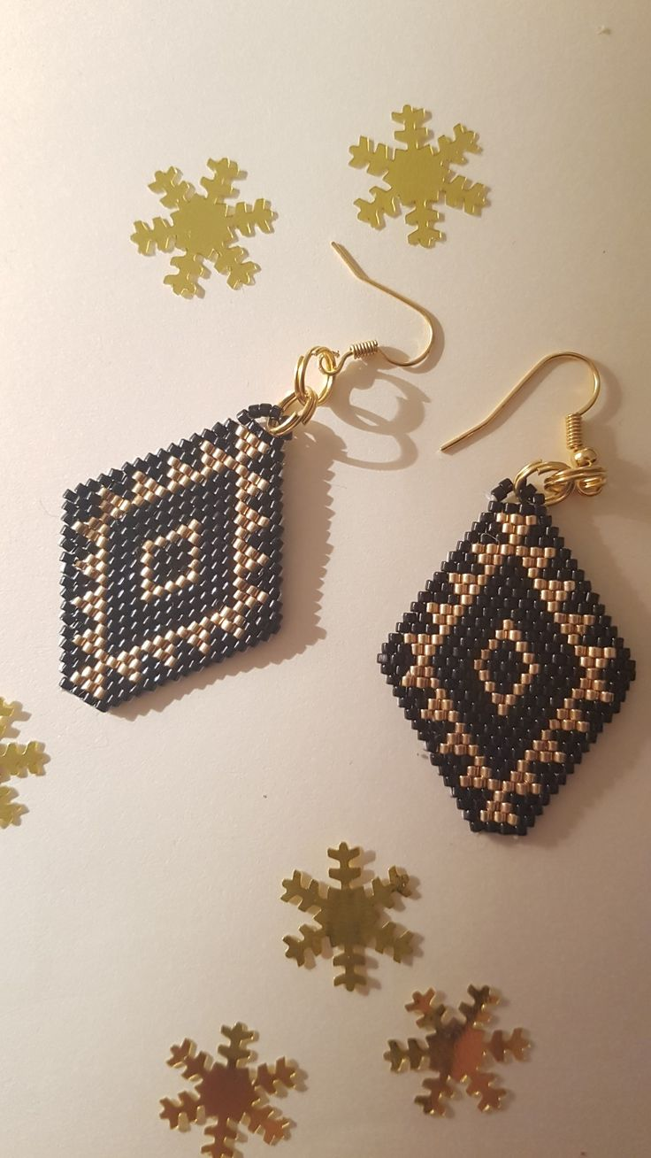 Black Peruvian Earings