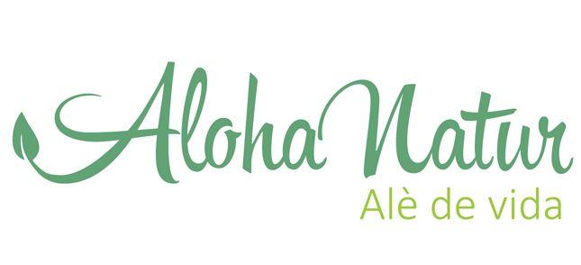 #Disseny de #logotip per Aloha-Natur www.alohanatur.com