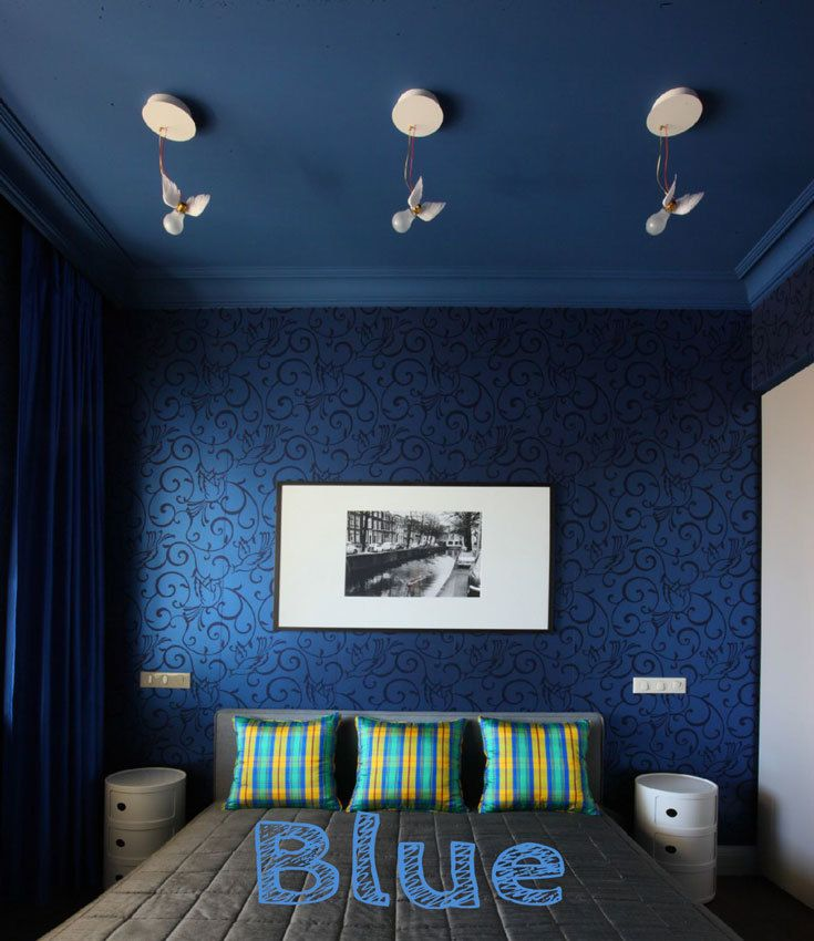9 Small Bedroom Color Ideas 35 Photos Accent Wall Paint