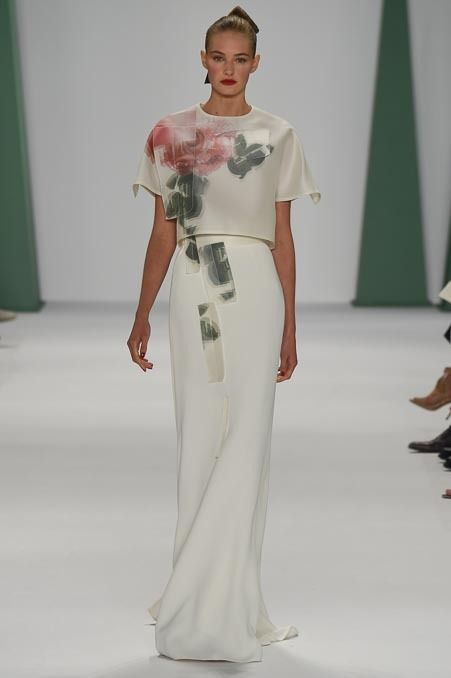 Carolina Herrera Spring 2015 RTW – Runway – Vogue