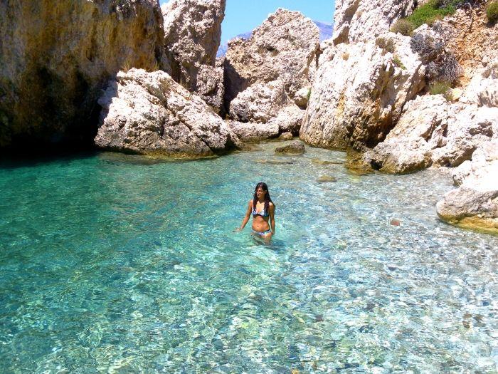 Secret bay near ballos in samos Samos island - Greeka.com | Greece | Greek islands