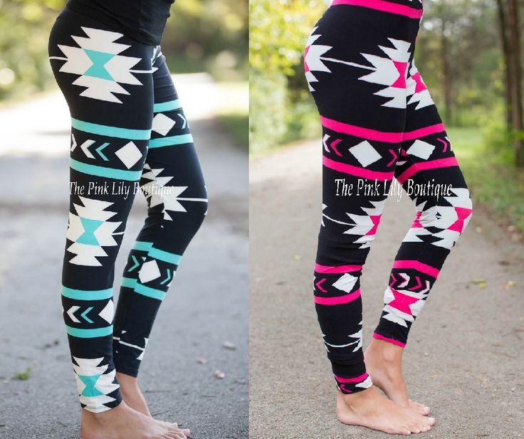 Printed Leggings for Winter!