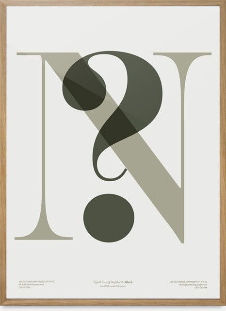 In Love With Typography 4 — N?