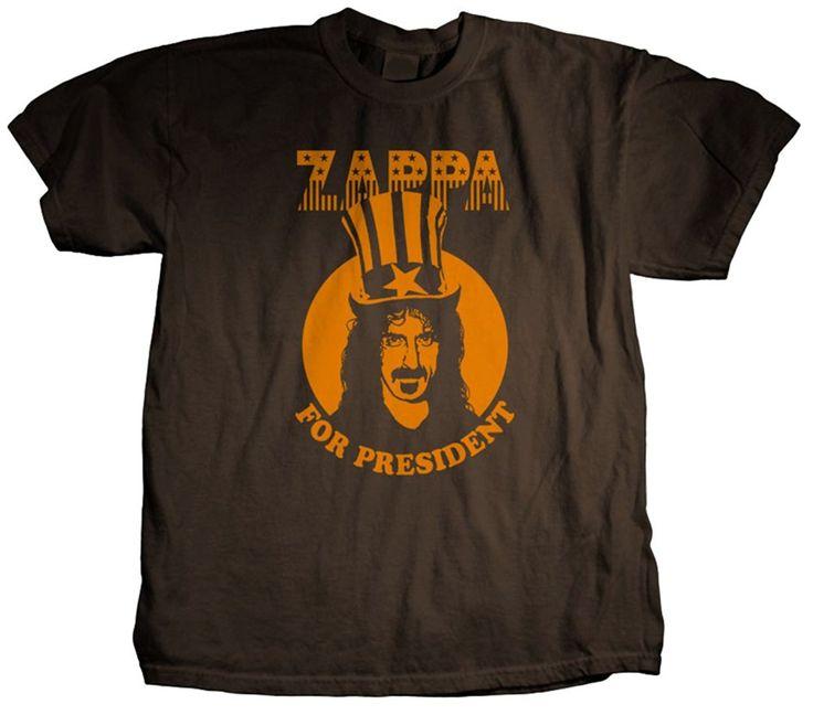 Frank Zappa- President T-Shirt Size L