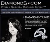 Here's what we've done with Diamonds.com.  Our services include: Ecommerce Consulting, User Interface Design, Graphic Design, Ecommerce Solutions, Internet Marketing, Content & Brand Websites.