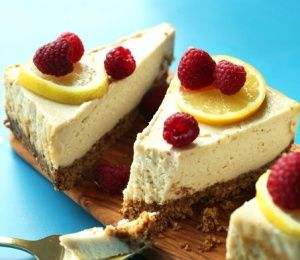 Easy Baked Vegan Cheesecake