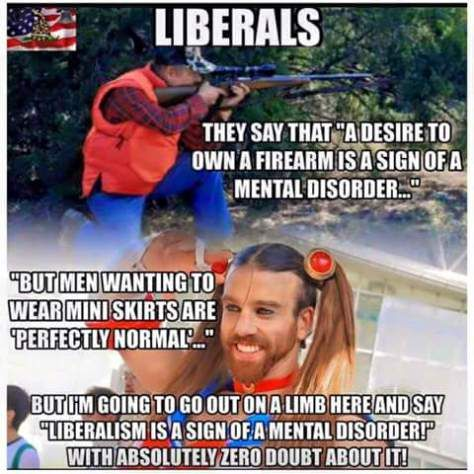 I do believe that all liberals are mentally defective---What else could explain the craziness??