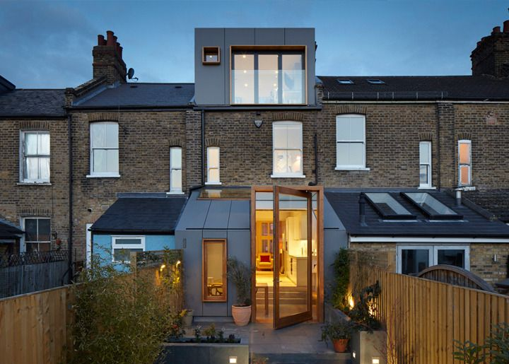 Just awesome example of what you can do with a simple house loft and extension.  www.methodstudio.london