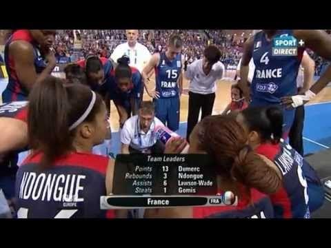 FOOTBALL -  Basket Feminin : France vs Suède - Céline Dumerc show - 2013 06 27 - http://lefootball.fr/basket-feminin-france-vs-suede-celine-dumerc-show-2013-06-27/