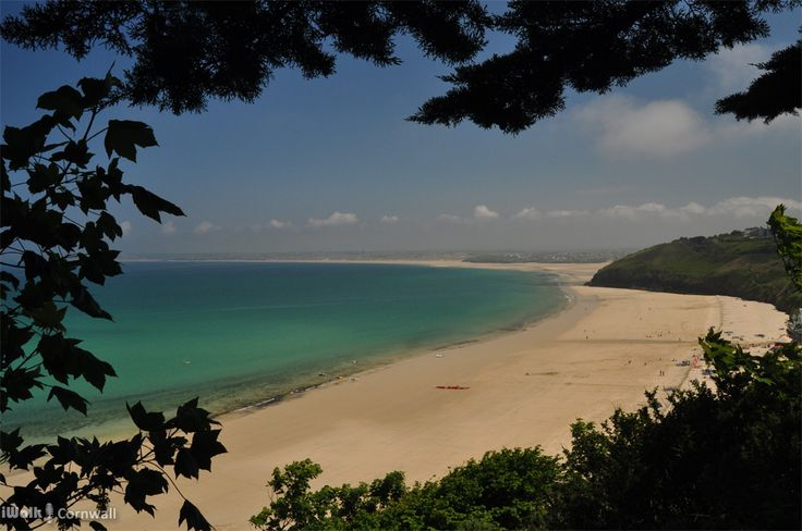 St Ives Bay, Cornwall: Carbis Bay, Porthkidney Sands, Hayle and Gwithian beach join together to form one mind-bogglingly vast beach at low tide.