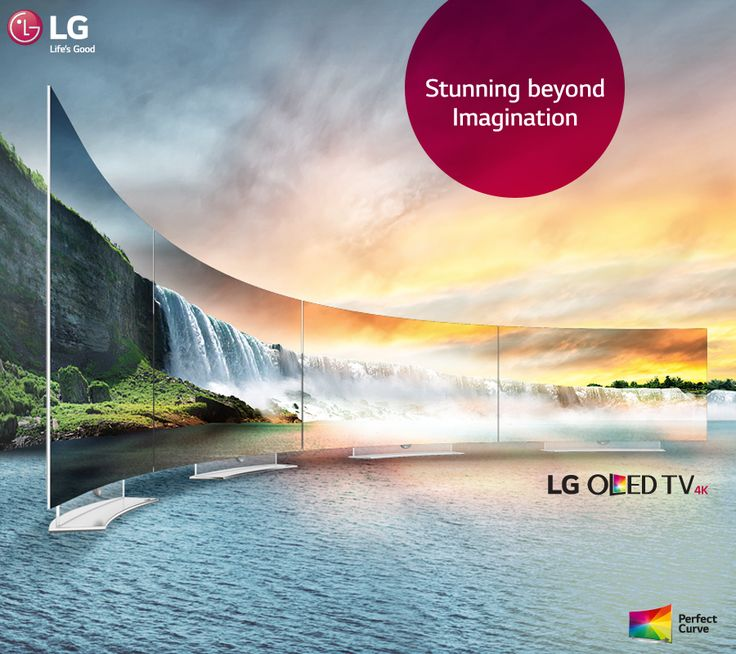 Experience the perfection & clarity with #LG OLED TV. #FutureOfTV