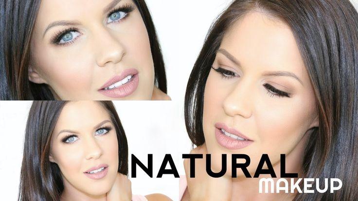 MY GO TO NATURAL MAKEUP LOOK | NIKKIA JOY - YouTube