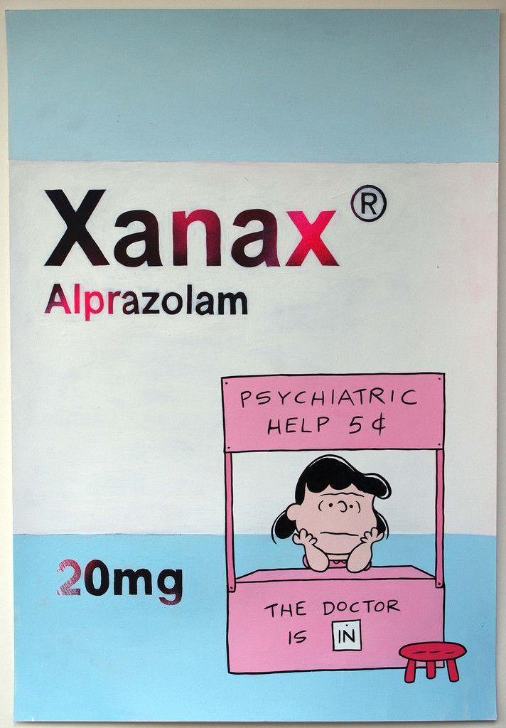 Ben Frost - Xanax - Psychiatric Help #packaging #inspiration