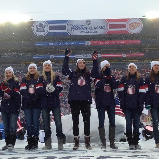 Chandler, Arizona's Lyndsey Fry and the 2014 USA Women's Olympic Ice Hockey | USA Hockey Magazine #Sochi2014 #TeamUSA