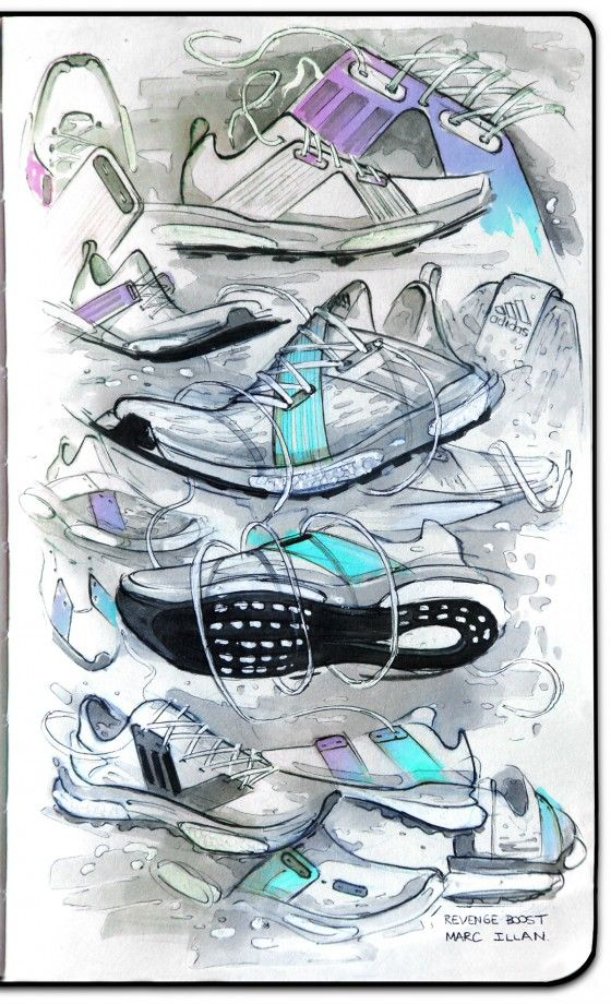 adidas Running Revenge Boost SS16 Initial Sketches | ConceptKicks