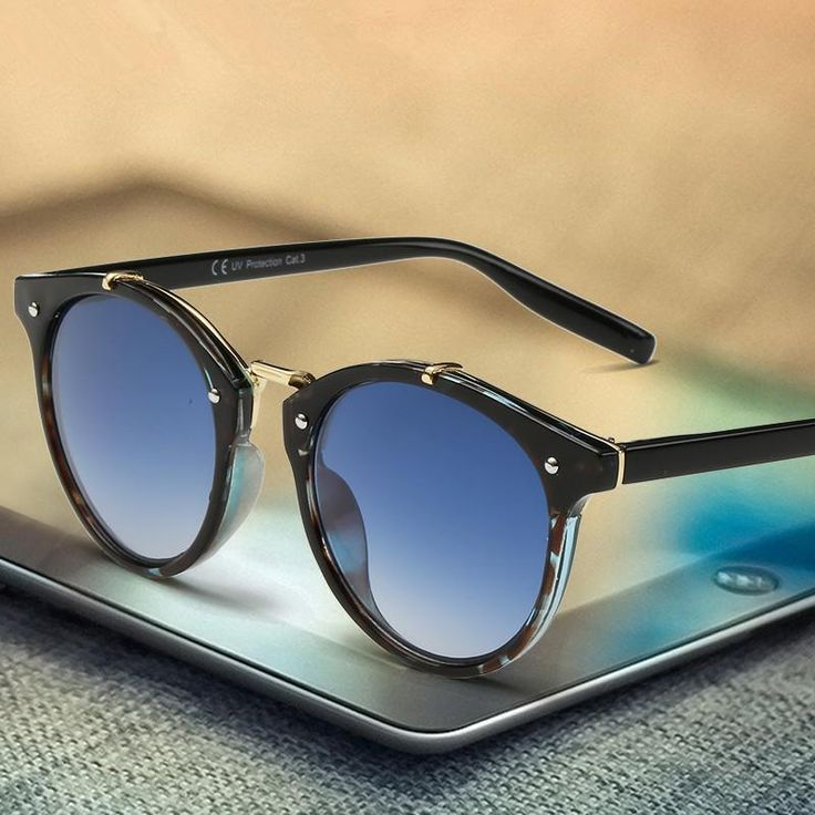 Luxury Round Sunglasses Men Brand Designer Retro Vintage Points Sun Glasses Men Women Female Male Sunglass Mirror Shades Glasses