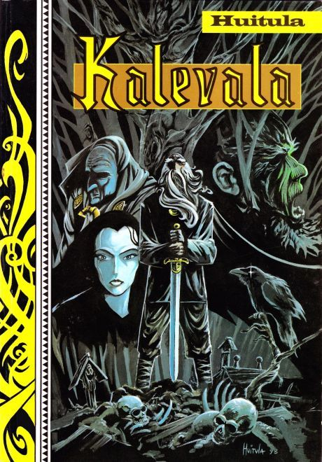Kalevala the graphic novel.  Well, why not...