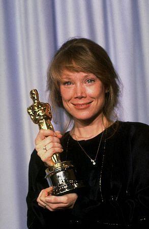 "Sissy Spacek 1980.  Best Actress Oscar winner for her performance in ""Coal Miner's Daughter"""