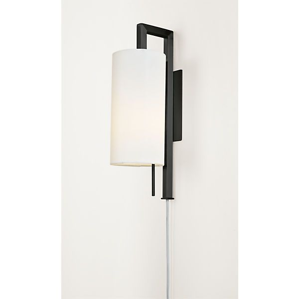 Leslie Plug In Wall Sconce Gerard Master Bedroom Plug In