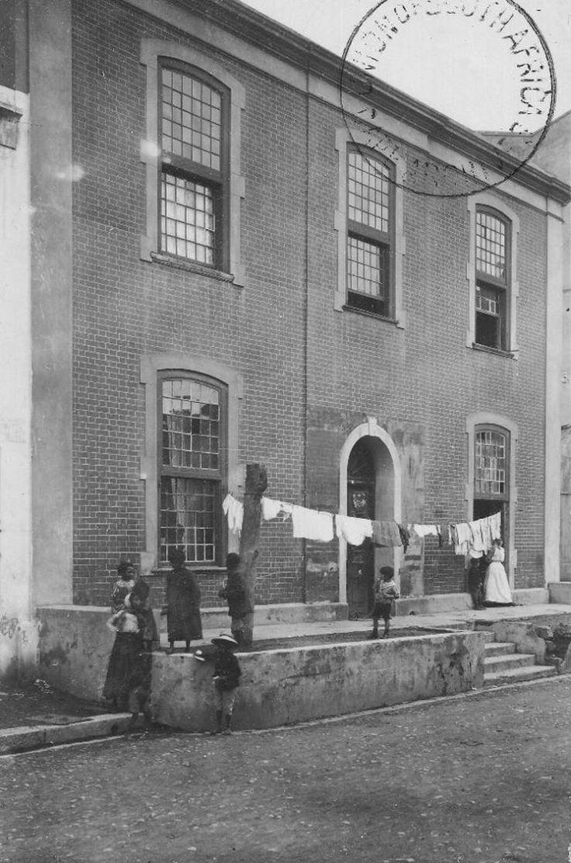 Old house, Commercial Street, Cape Town. Arthur Elliot